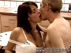 Old and Young, Blowjob, Fucking, Nude, Old Man, Sex