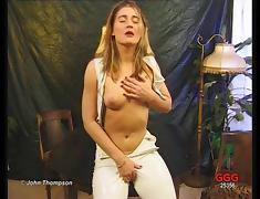 Video compilation of sultry lingerie-clad porn stars with perfect bodies enjoying hardcore sex