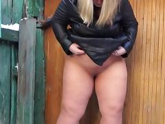 fatty pees in tights 720p