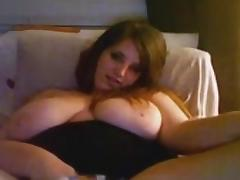 I'm humping a sex toy in big breast amateurs clip