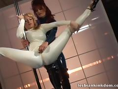 Strapon, Catsuit, Dance, Fetish, Fucking, Latex