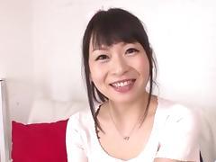 Serious toy sex for cock sucking Nozomi Hazuki