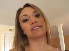 Hot beautiful big tits girl pussy fuck