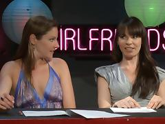 Dana Dearmond and Samantha Ryan host a pornstar talk show