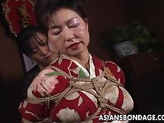 Asian Granny, Amateur, Asian, Bitch, Bondage, Japanese