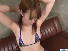 Strong solo masturbation cam show withMisato Sakurai