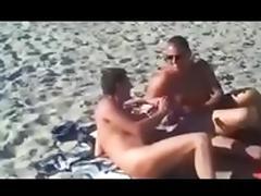 Swingers, Amateur, Beach, Group, Nude, Orgy