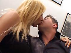 Lewd Girl Gets Packed By Tranny & Stud