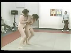 Hairy Milfs Catfight Comp.