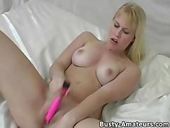 Lacie on solo masturbation