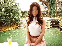 Erotic Asian babe with sexy long hair fucked in hot scenes