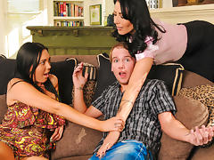 Zoey Holloway,Megan Foxx in Wanna Fuck My Daughter Gotta Fuck Me First #14, Scene #04