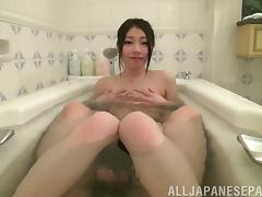 Bath, Asian, Bath, Beauty, Blowjob, Close Up