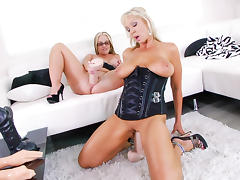 Dee Siren,Naughty Alysha in Pussy Acrobats, Scene #05
