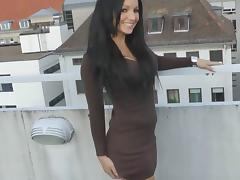 Balcony, Amateur, German, Outdoor, POV, Balcony