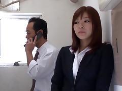 Sexy Asian pornstar gets drilled and a cum facial hardcore sex.