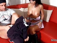 mother MILF Show Step-Son how to Fuck in Privat SexTape