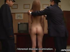 Uniform, Asian, BDSM, Humiliation, Jail, Nude