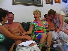 Mature Swingers, German, Group, Mature, Old, Orgy