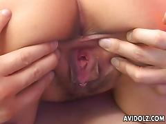 Cute oriental bitch has a hot fuck with her man