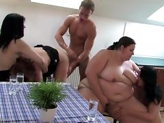 Mom, Fucking, Group, Mature, Mom, Old