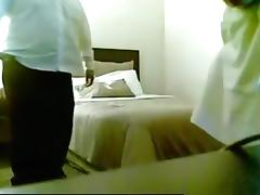 Fat guy fucks a streetslut in a hotel