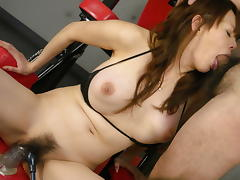 Amazing Japanese girl Rina Wakamiya in Hottest JAV uncensored Cumshots clip