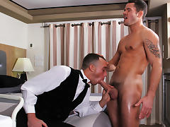 Kirk Cummings & Valentin Petrov in Working For That Tip Scene