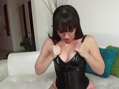 Anal loving lesbians in super sexy tight corsets