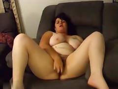 My big tit BBW wife playing