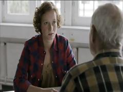 Hot redhead in Swiss 'Tatort'