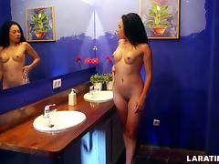 LARA TINELLI Naked in the Hotel