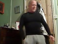 Muscle Dad Verbal and Cum Squirt