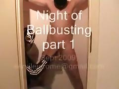 Night of ballbusting part 1