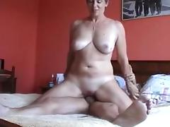 Mom and Boy, Amateur, French, Mature, Old, Old and Young