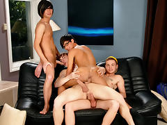 Joey Hard & Noah Brooks & Jay Dubbs & Landon Terry in House Bangers XXX Video