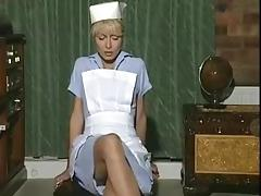 All, Blonde, Masturbation, Nurse, Solo, Stockings