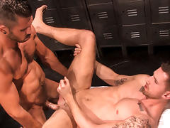 Damien Stone & Troy Daniels in All Access, Scene #03