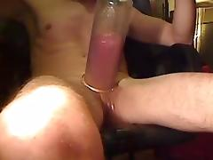 pumping and pissing