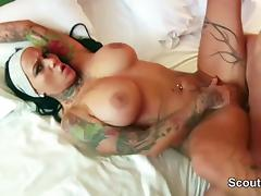 Audition, Audition, Casting, Cum in Mouth, German, Pornstar