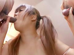 Exotic Japanese chick Noriko Kago in Horny JAV uncensored Teen clip