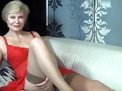 Kinky, Kinky, Mature, Solo, Stockings, Webcam
