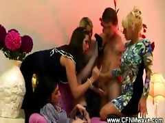 Mistress, Banging, Blowjob, CFNM, Clothed, Cougar