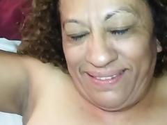 Latina Grandma loves being fucked in the ass