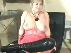 Mature french big boobs gang banged