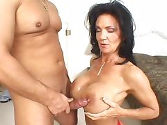 Mature, Stockings, Big Tits, Big But, Dildo and Anal