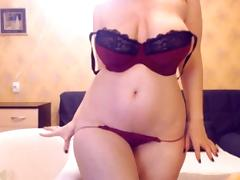 Russian Web Camera Model Teaseing