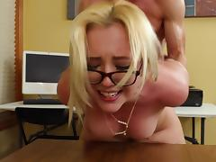 Samantha gets fucked by her professor