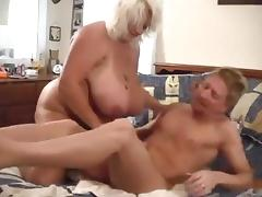 Big Titty BBW Blonde Suck N' Fucked Hard 2