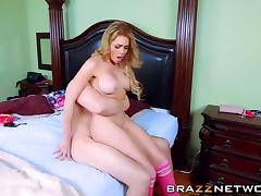 Sexy Skyla Novea catches Jmac in the act and seduces him